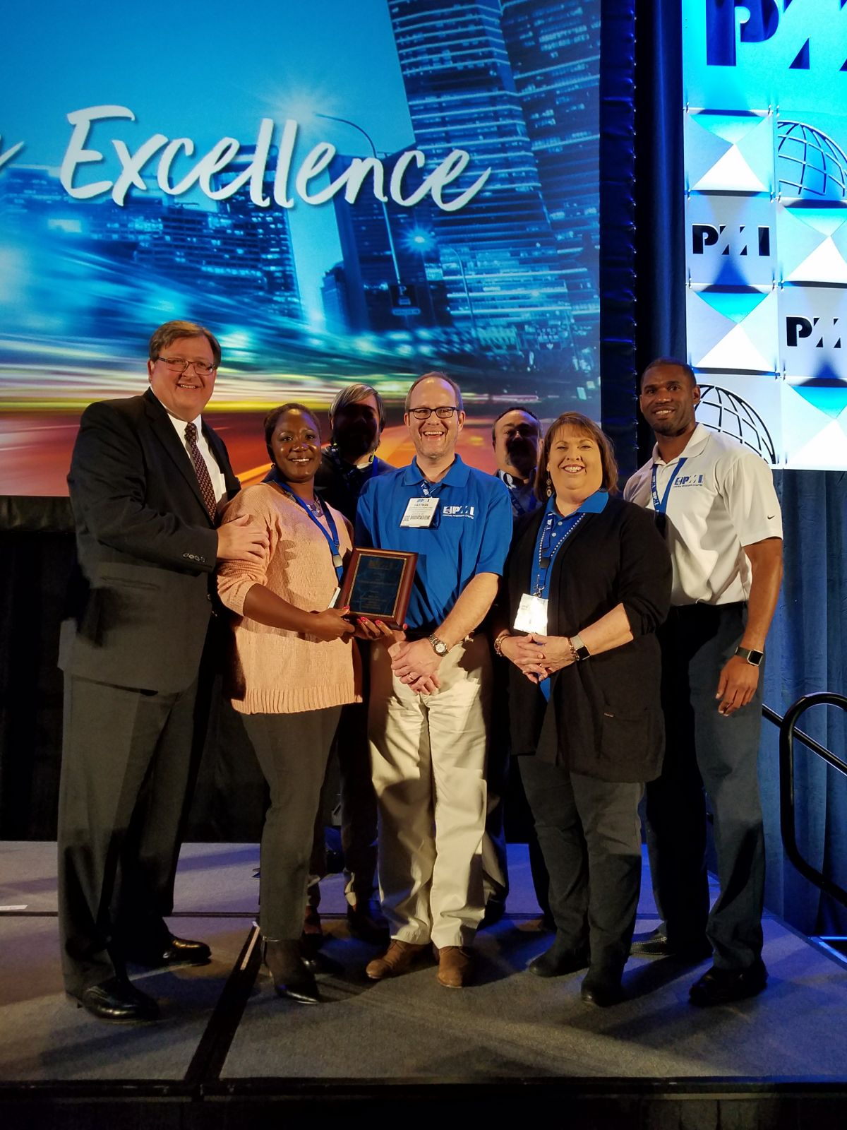 PMICMS 2017 PMI Small Chapter of the Year